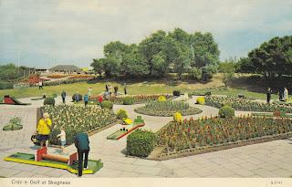Craz-e-Golf at Skegness by E.T.W Dennis & Sons Ltd S.2142 postally used on 21 June 1977