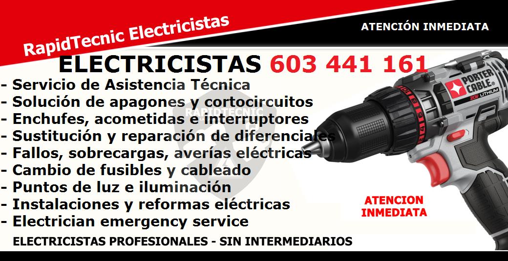 Reparamos electricista correntilla castell n 603 441 161 - Electricistas en castellon ...
