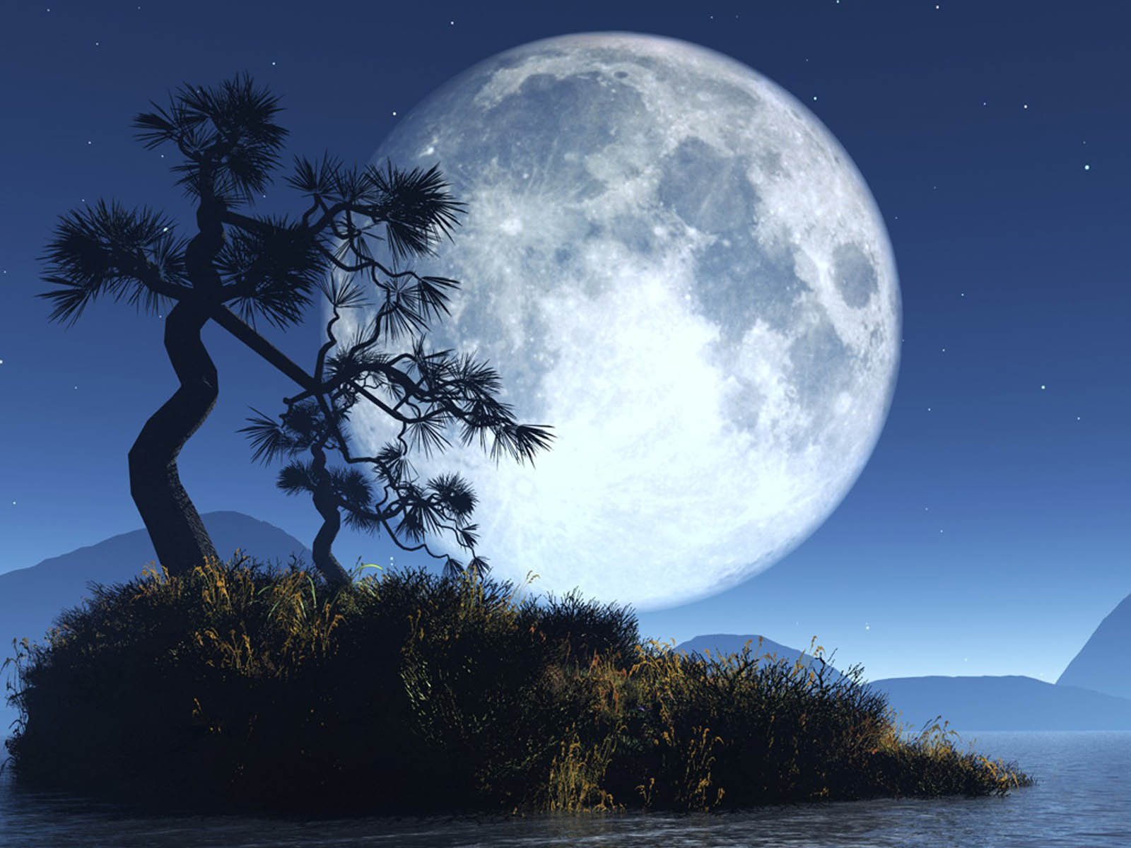 Wallpapers moon fantasy wallpapers - Fantasy background ...