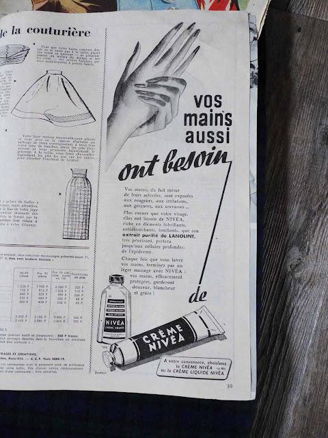 publicité nivea 1958