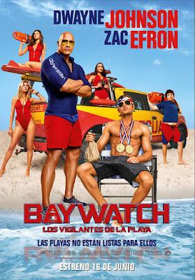 Póster en español de 'Baywatch. Los Vigilantes de la Playa