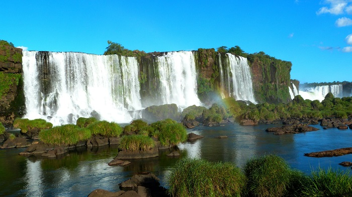 Iguazu Falls of Argentina and Brazil - One of The Most Beautiful Waterfalls In The World