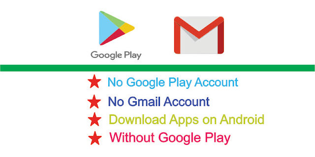 Android apps without Gmail
