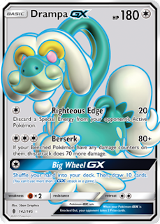 Drampa Guardians Rising Pokemon Card