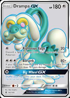 Drampa Guardians Rising Pokemon Card
