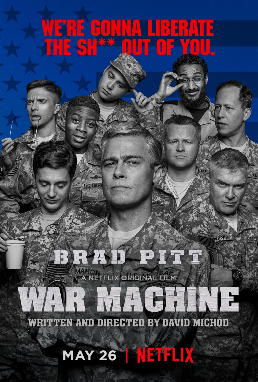 Nonton Film War Machine (2017)