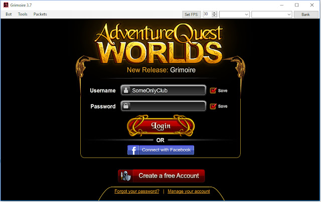 Download Grimoire 3.7 AQW