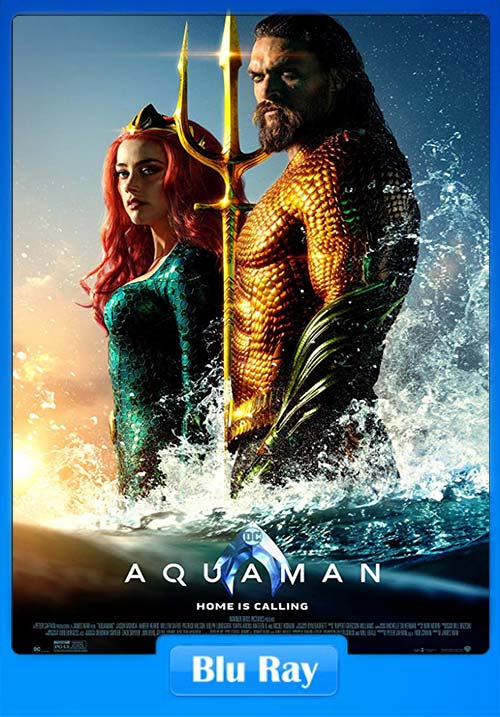 Aquaman Hindi 2018 BluRay 720p Telugu Tamil Eng x264 | 480p 300MB | 100MB HEVC