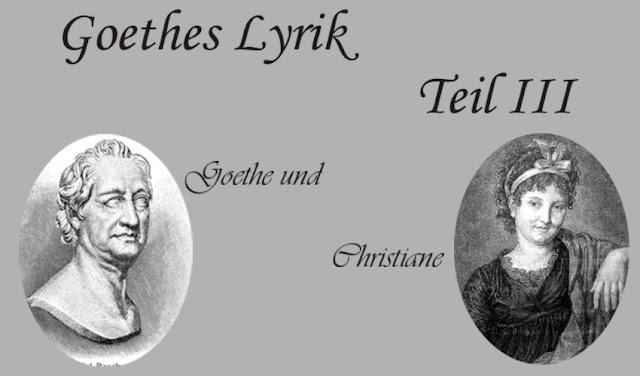Goethe und Christiane