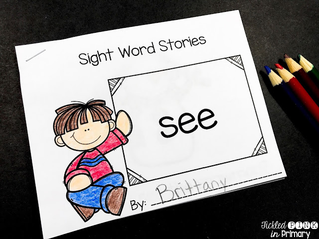 Sight Word Books - 01