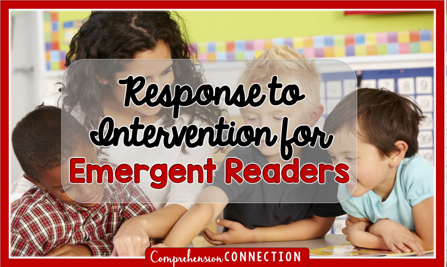 RTI can be overwhelming, but in this post, you'll see how RTI can be done for emergent and beginning readers.