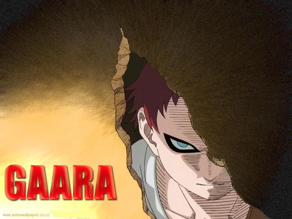 Naruto Characters: Gaara