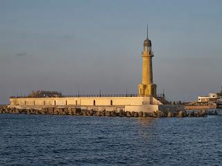 Alexandria Montazah Beach lighthouse of Egypt Abandoned Lighthouse