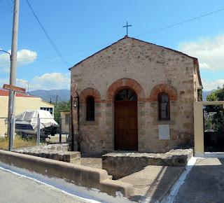 ναός του αγίου Γεωργίου στην Καλαμάτα