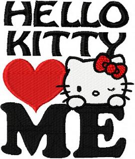 Gambar I Love Hello Kitty 4