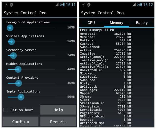 System Control Pro Android