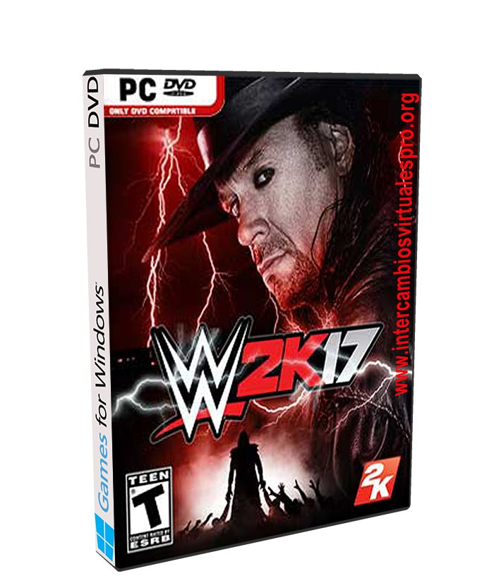 WWE 2K17 poster box cover