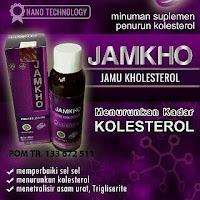 Obat jamu JAMKHO penurun kolesterol jahat dan asam urat tinggi