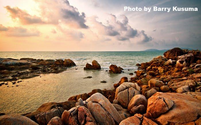 Pantai Tenggiri di Bangka Belitung
