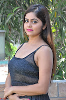 Pragya Nayan New Fresh Telugu Actress Stunning Transparent Black Deep neck Dress ~  Exclusive Galleries 010.jpg
