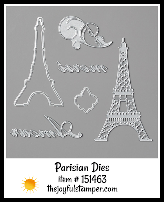 Stampin' Up! Parisian Dies | Nicole Steele The Joyful Stamper