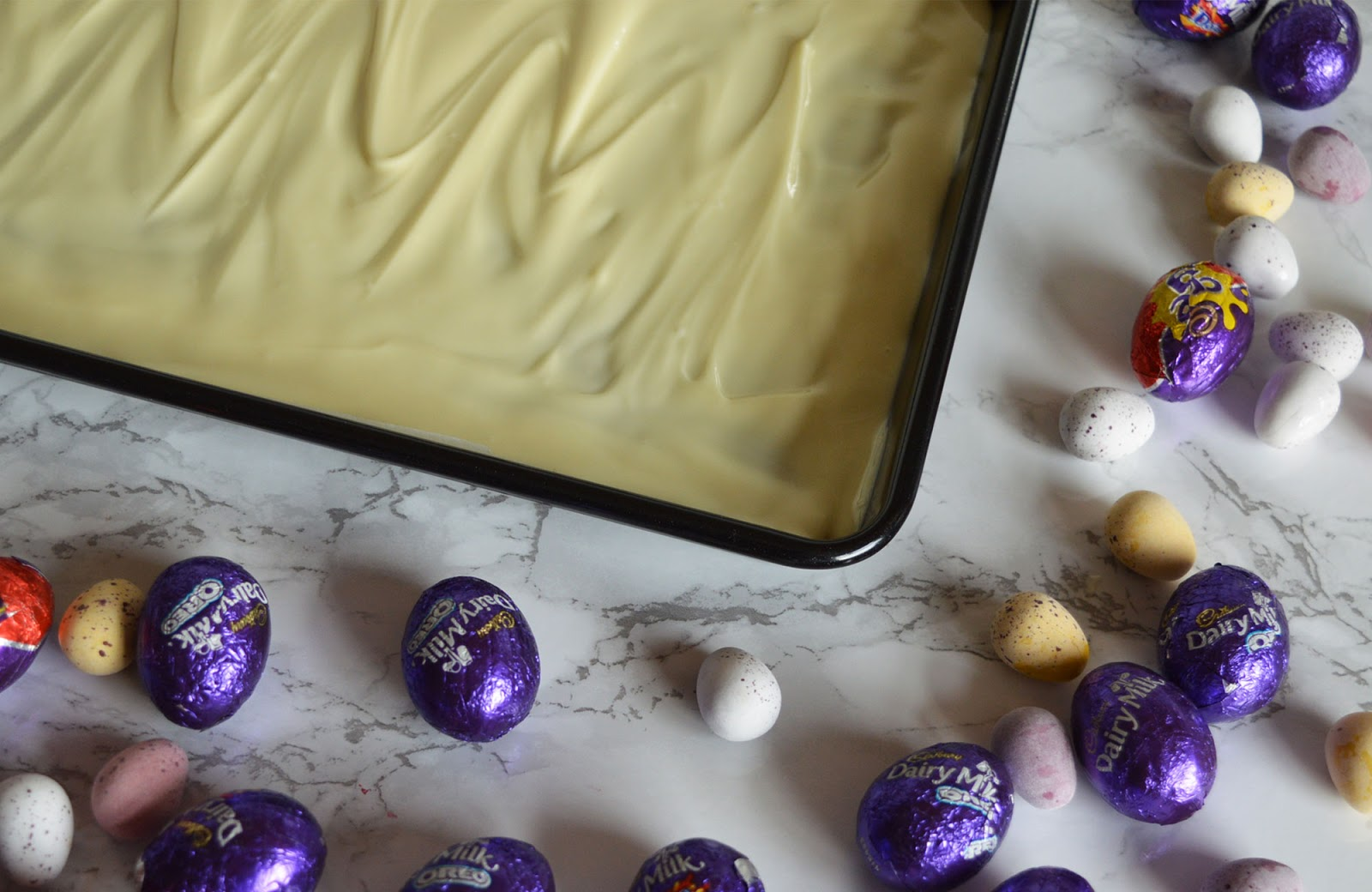 The Best Easter Chocolate Bark Recipe by Cranberry & Apricot - method