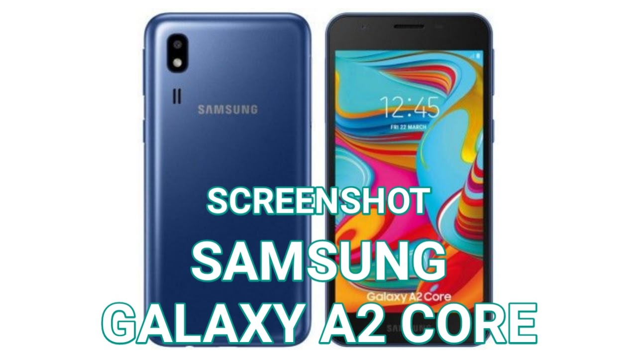 Cara Screenshot Samsung Galaxy A2 Core