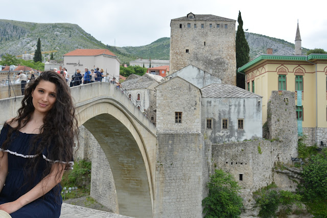 Stari Most( Mostar köprüsü)-Bosna Hersek