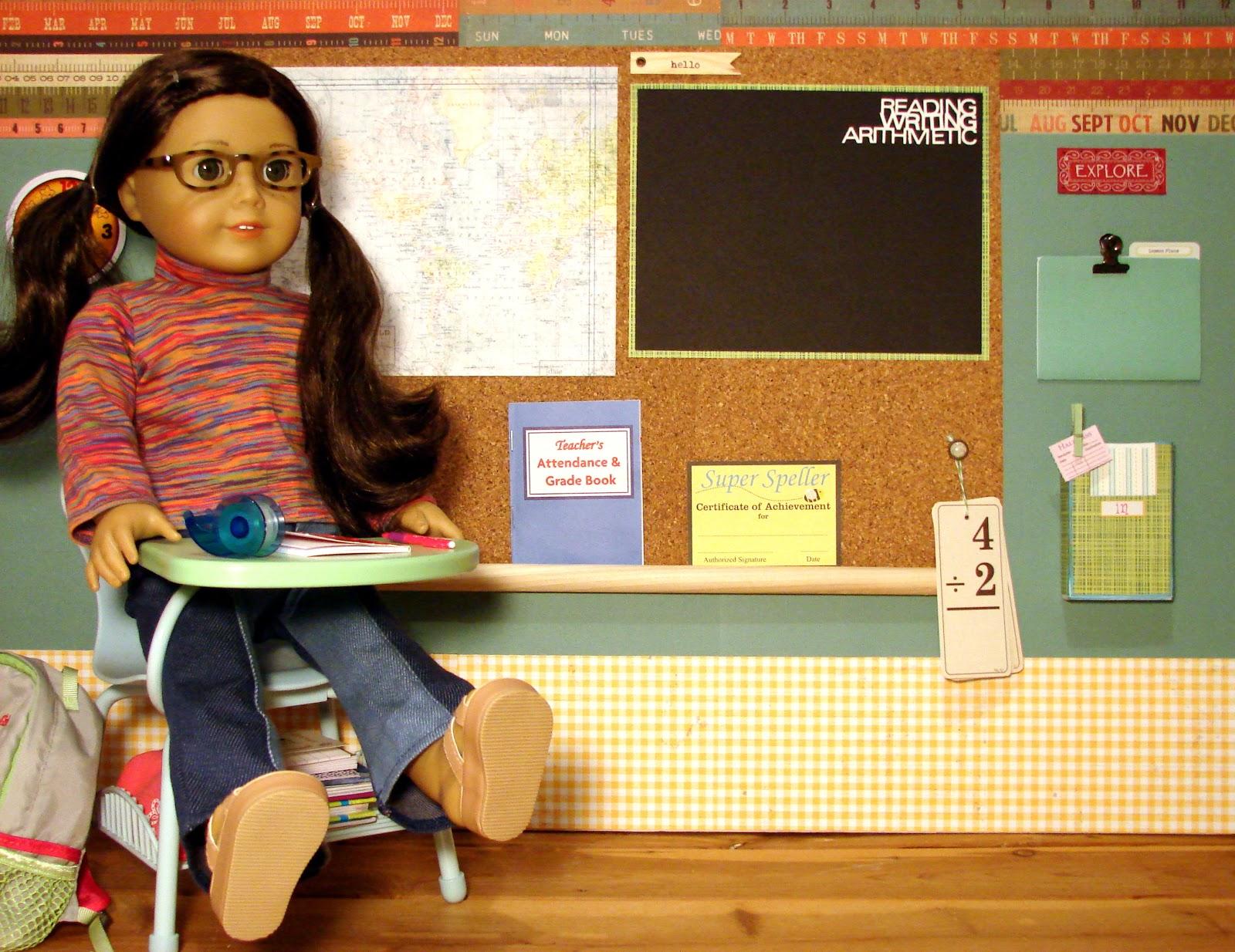 American Girl Doll Play Creating A Doll Classroom