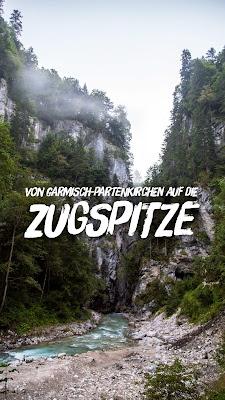 Wanderung von Garmisch auf die Zugspitze | Zugspitztour 1-tägig | Partnachklamm – Bockhütte – Reintalangerhütte – Knorrhütte – Schneefernerhaus – Münchner Haus - Zugspitze