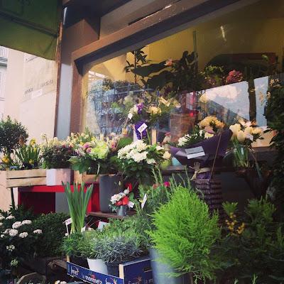 LACN - voyage - carrement vert - paris - fleuriste