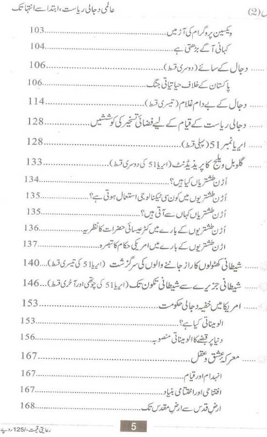 Dajjal 2 Urdu Book by Mufti Abu Lubaba free download