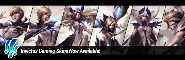 Surrender at 20: Invictus Gaming Skins Now Available!