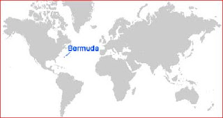 Gambar Peta letak Bermuda