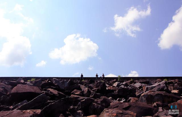 Doyang Dam embankment