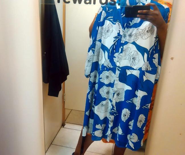 e1cf150b05 Fat Girl Shopping  3 Merien Hall Dresses at Edgars   Nomali from Soweto