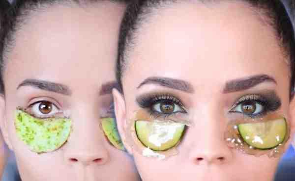 طريقة ازالة السواد حول العين