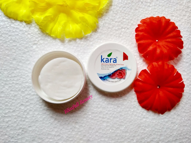 Kara Nail Polish Remover Wipes (Rose) Review