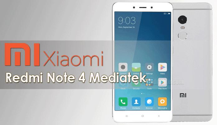 Harga Xiaomi Redmi Note 4 Mediatek, Spesifikasi Lengkap Xiaomi Redmi Note 4 Mediatek