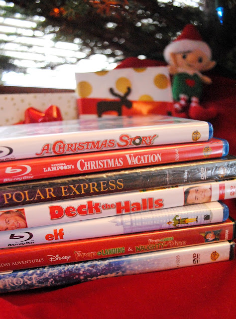 Christmas Movie night ideas over at FizzyParty.com