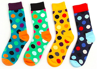 colorful mens socks