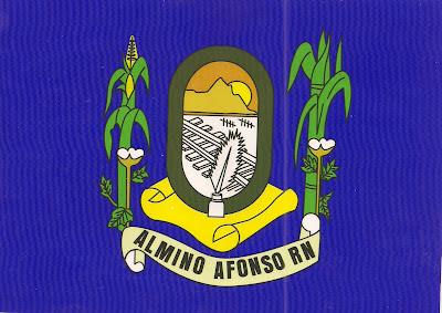 Resultado de imagem para bandeira de almino afonso rn