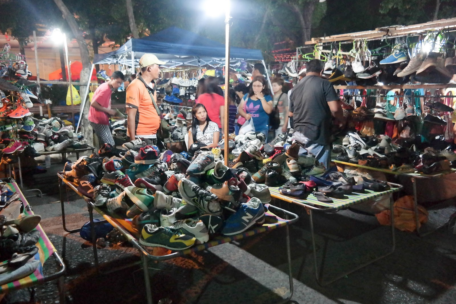 Baguio City Shoes Night Market