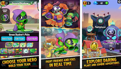 game zombie terbaik android plants vs zombies