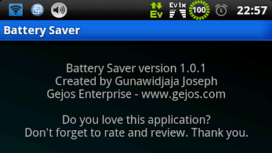 Battery Saver Donate (Root) v4.6.1 Patched Apk