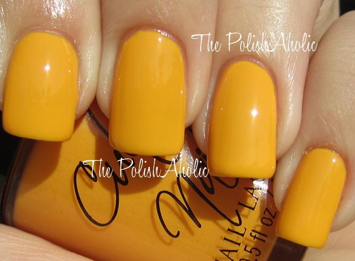 Dark Yellow Nails Best Nail Designs 2018