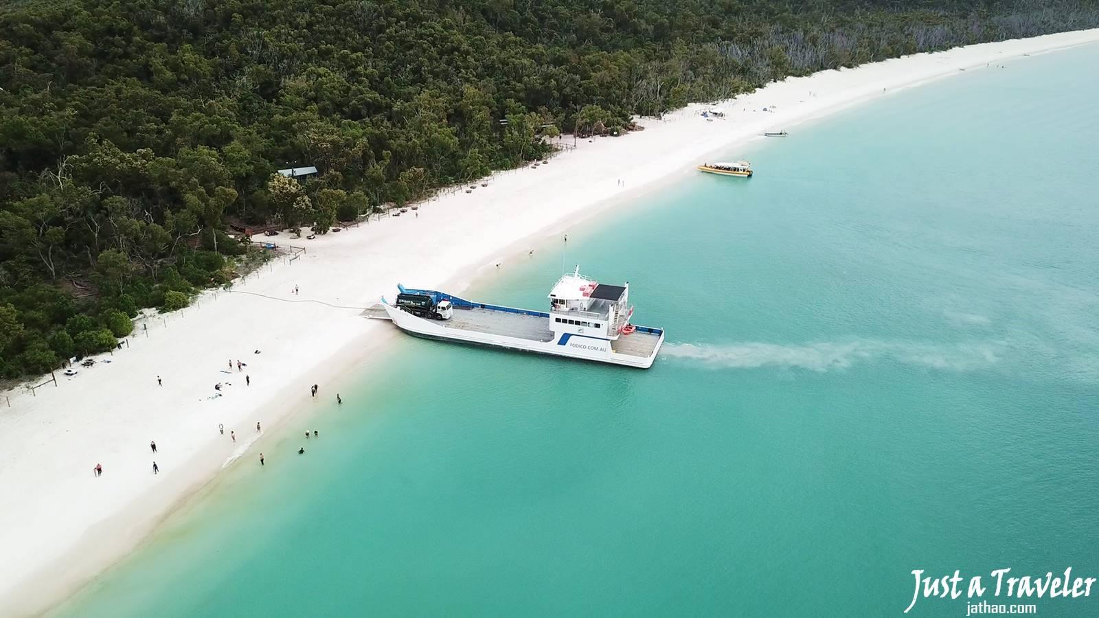 聖靈群島-景點-推薦-白天堂海灘-Whitehaven-Beach-白天堂沙灘-必玩-必去-必遊-好玩-自由行-自助-行程-遊記-旅遊-澳洲-Whitsundays-Travel-Attraction-Australia