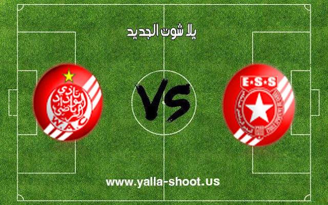 النجم الساحلي يخطف النقاط الثلاثة من الوداد الرياضي المغربي في بطولة كأس زايد للأندية