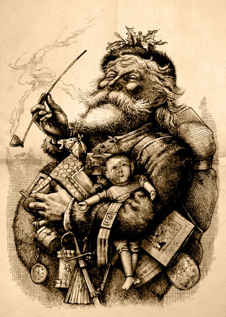 Authentic Father Christmas Picture