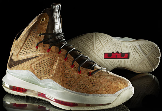 finest selection 291b1 93eb0 Nike LeBron X EXT Cork QS Classic Brown University Red-Hazelnut-Sail Price  Drop. This weekend s highly anticipated